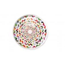 24cm White Porcelain Desert Plate